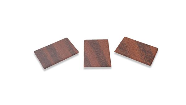 Picture of 50mm SQUARE ENDCAP MAHOGANY (PACK OF 20)