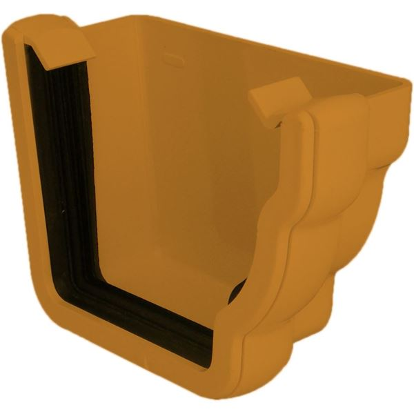 Picture of FLOPLAST OGEE EXT STOPEND R/H (CARAMEL)
