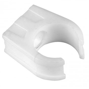 Picture of 21.5mm SOLVENT OVERFLOW PIPE CLIP (WHITE)