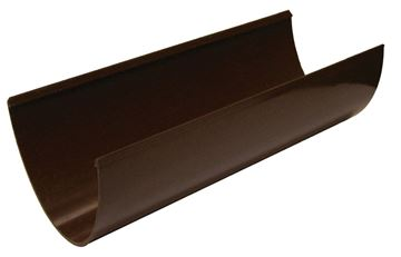 Picture of FLOPLAST 4M HI-CAP GUTTER (BROWN)