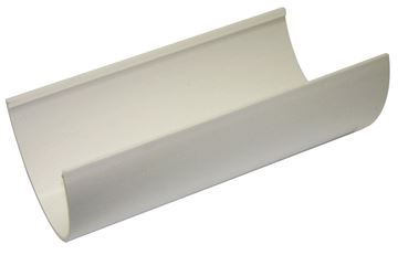 Picture of FLOPLAST 4M HI-CAP GUTTER (WHITE)