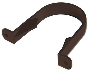 Picture of FLOPLAST ROUND PIPE CLIP (BROWN)