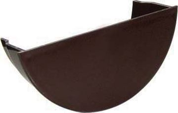 Picture of FLOPLAST ROUND INT STOPEND (BROWN)