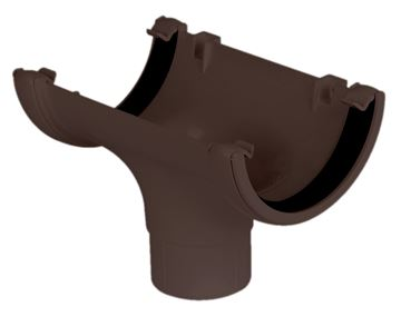 Picture of FLOPLAST ROUND RUNNING OUTLET (BROWN)