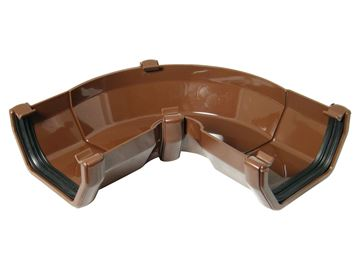 Picture of FLOPLAST SQUARE 50-156 DEG ADJ GUTTER ANGLE (BROWN)