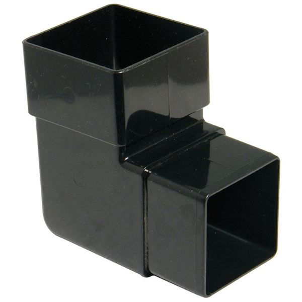 Picture of FLOPLAST SQUARE 92 DEG OFFSET BEND (BLACK)