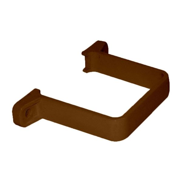 Picture of FLOPLAST SQUARE FLUSH PIPE CLIP (BROWN)