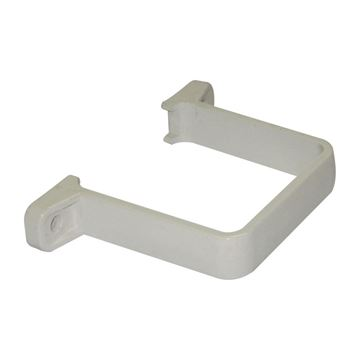 Picture of FLOPLAST SQUARE FLUSH PIPE CLIP (WHITE)