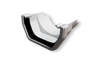 Picture of SQUARE TO ROUND CAST GUTTER ADAPTOR (WHITE)