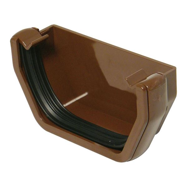 Picture of FLOPLAST SQUARE EXT STOPEND (BROWN)
