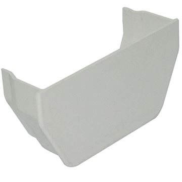 Picture of FLOPLAST SQUARE INT STOPEND (WHITE)