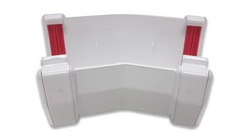 Picture of SQUARE 150 GUTTER ANGLE (WHITE)