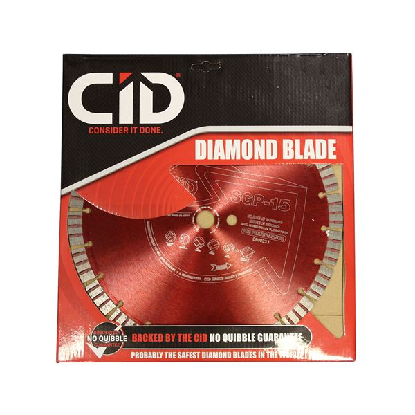 Picture of 12'' DIAMOND CUTTING BLADE