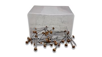 Picture of DECKING PINS (AUTUMN TEAK) (BOX 50)