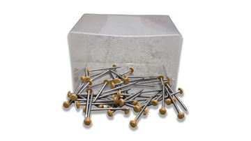Picture of DECKING PINS (WALNUT BROWN) (BOX 50)