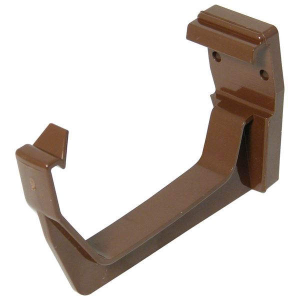 Picture of FLOPLAST SQUARE GUTTER BRACKET (BROWN)