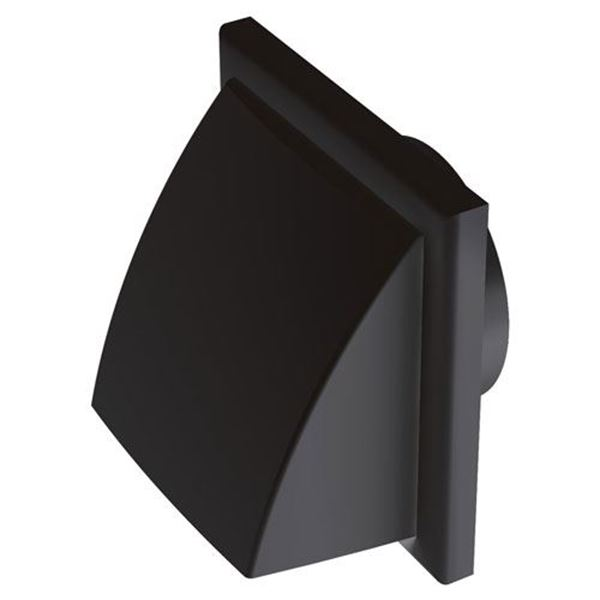 """Picture of Cover Vent 4"""" (100mm) BLACK"""