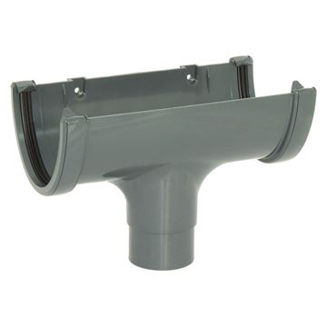 Picture of FLOPLAST HI-CAP RUNNING OUTLET (ANTHRACITE GREY)