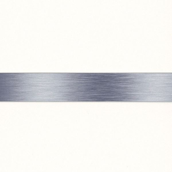 Picture of WHITE GLOSS WITH SILVER STRIP CEILING PANEL 200mm x 2.6M (5mm) (PACK 4)