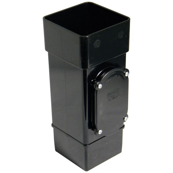Picture of FLOPLAST SQUARE ACCESS PIPE (BLACK)