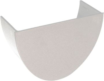 Picture of FLOPLAST HI-CAP INTERNAL STOP END (WHITE)