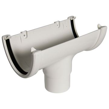 Picture of FLOPLAST HI-CAP RUNNING OUTLET (WHITE)