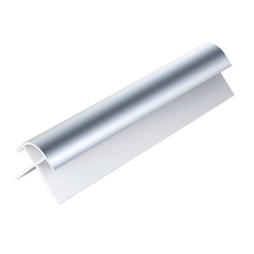 Picture of WALL PANEL EXTERNAL CORNER 2.6M X 5MM (CHROME)